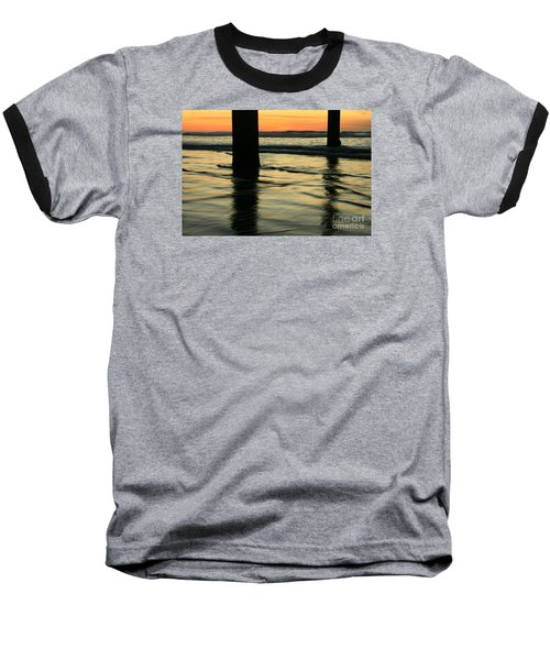 La Jolla Shores Sunset Baseball T-Shirt