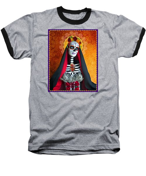 Baseball T-Shirt featuring the photograph La Muerte by Tammy Wetzel