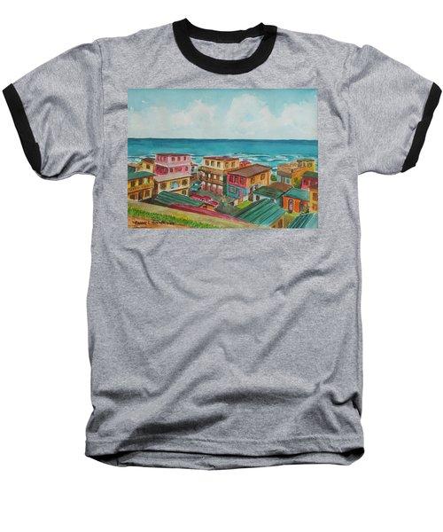 La Perla San Juan Pr Baseball T-Shirt by Frank Hunter