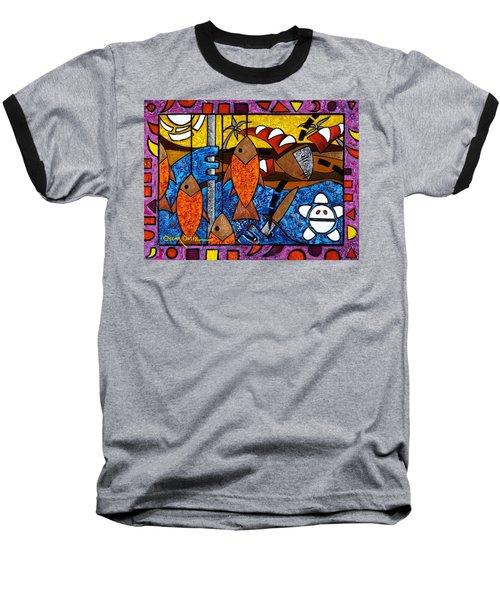 La Pesca Virgen De Un Hombre Honrado Baseball T-Shirt