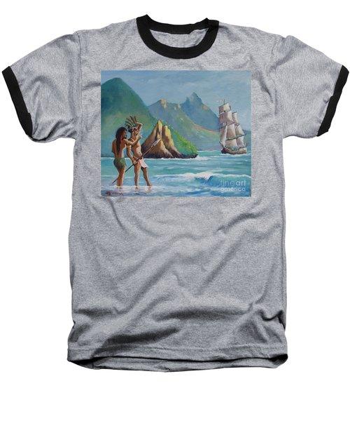 La Rencontre De Deux Mondes Baseball T-Shirt