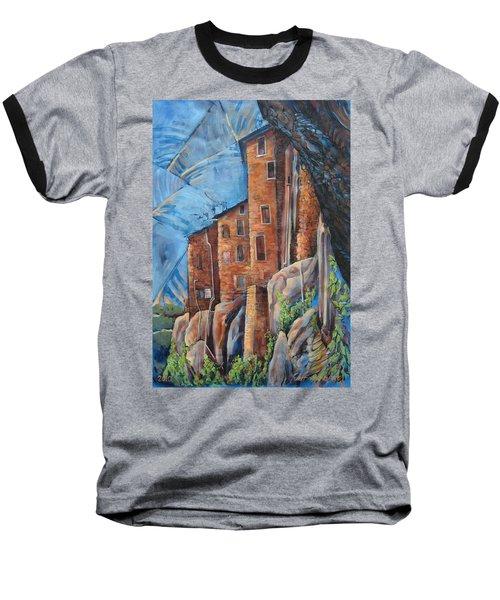 La Rocca Citta Lg Italy Baseball T-Shirt
