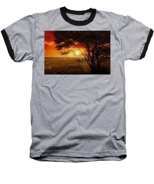 La Savana Al Tramonto Baseball T-Shirt
