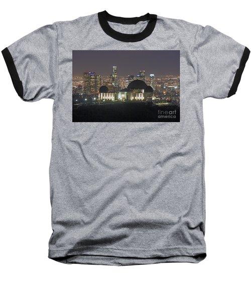 L.a. Skyline Baseball T-Shirt