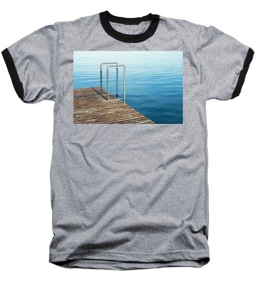 Baseball T-Shirt featuring the photograph Ladder by Chevy Fleet