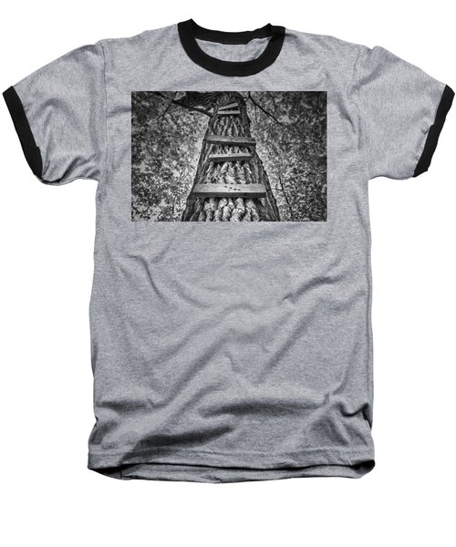 Ladder To The Treehouse Baseball T-Shirt