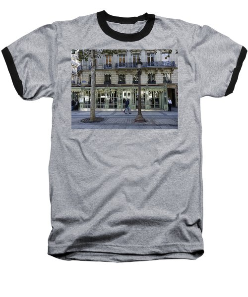 Laderee On The Champs De Elysees In Paris France  Baseball T-Shirt