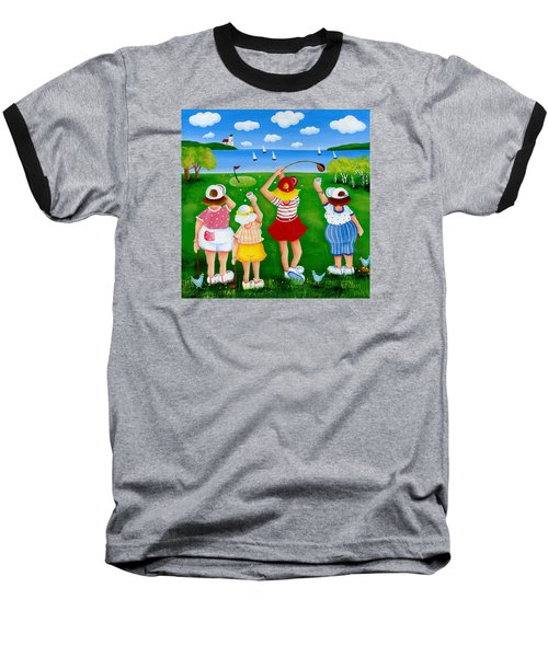 Ladies League Door County Baseball T-Shirt