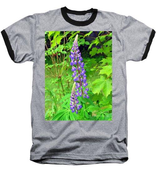 Lady Lupine Baseball T-Shirt
