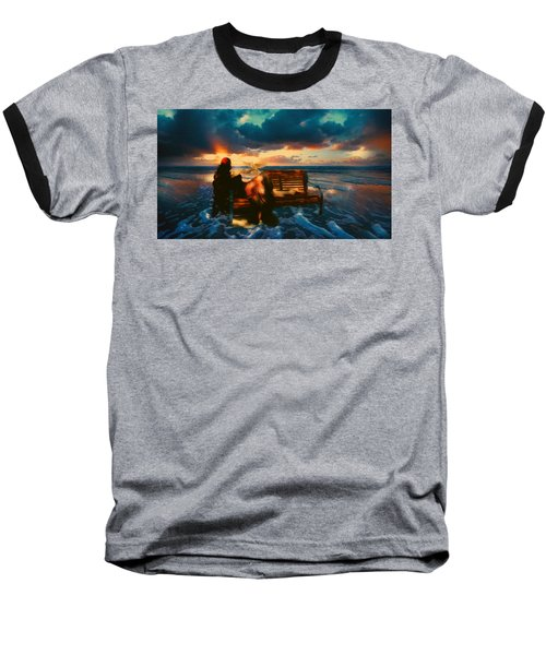 Lady Of The Ocean Baseball T-Shirt