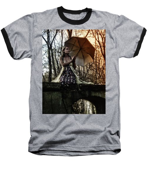 Lady Rain Baseball T-Shirt