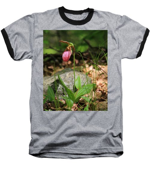 Lady Slippers At Moore State Park 3 Baseball T-Shirt