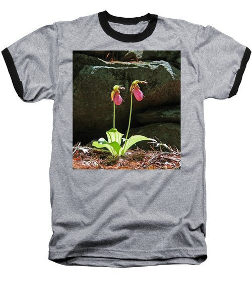 Lady Slippers At Moore State Park 5 Baseball T-Shirt