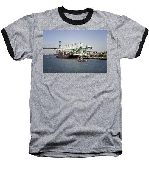 Lafd Fire Boat 2 San Pedro Ca 03 Baseball T-Shirt