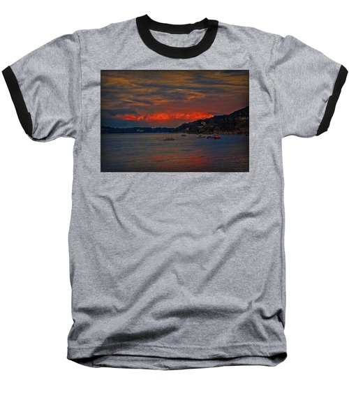 Baseball T-Shirt featuring the photograph Lago Maggiore by Hanny Heim