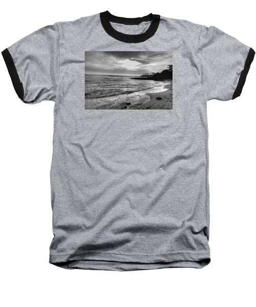 Laguna Beach Sunset Baseball T-Shirt