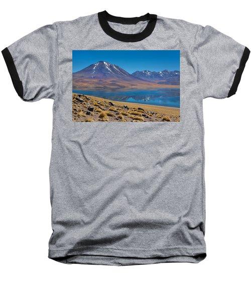 Laguna Miscanti Baseball T-Shirt