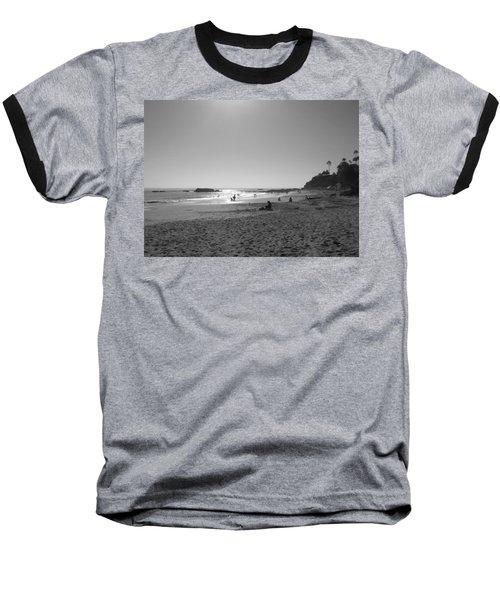 Laguna Sunset Reflection Baseball T-Shirt by Connie Fox