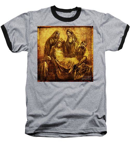 Laid_in_the_tomb Via Dolorosa 14 Baseball T-Shirt