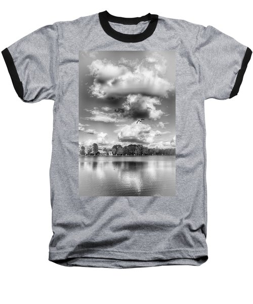 Baseball T-Shirt featuring the photograph Lake De Soto by Howard Salmon