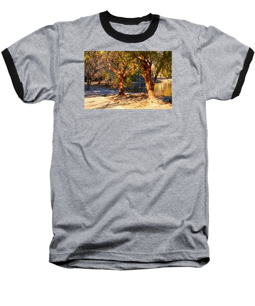 Lake Ella Trail Baseball T-Shirt