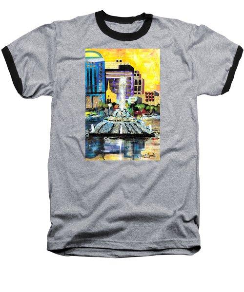 Lake Eola - Part 2 Of 3 Baseball T-Shirt