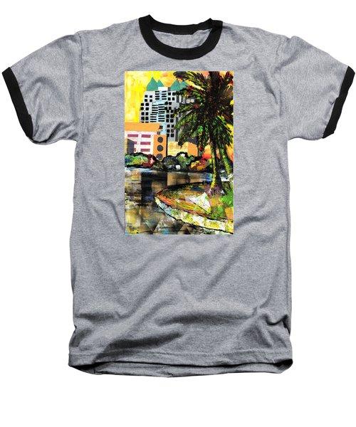 Lake Eola - Part 3 Of 3 Baseball T-Shirt