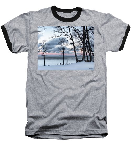 Lake Erie Sunrise Baseball T-Shirt