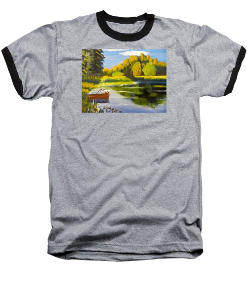 Lake Illawarra At Primbee Baseball T-Shirt