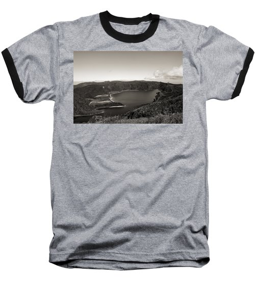 Lake In A Crater Baseball T-Shirt
