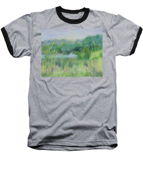 Lake Isaac Impressions Baseball T-Shirt by Lee Beuther