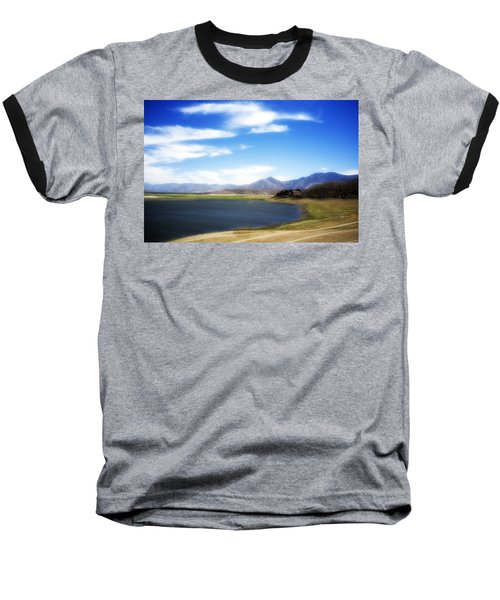 Lake Isabella Baseball T-Shirt by Hugh Smith