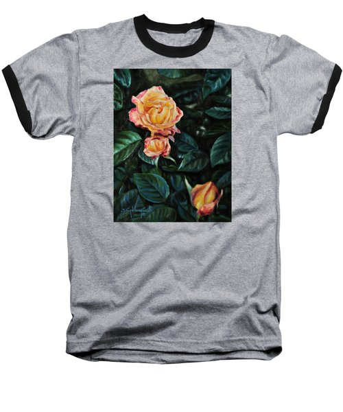 Lake J Rose Baseball T-Shirt by Craig T Burgwardt