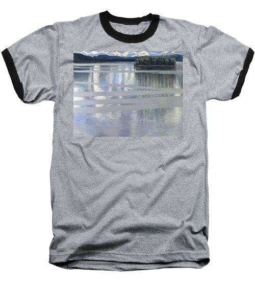 Lake Keitele Baseball T-Shirt