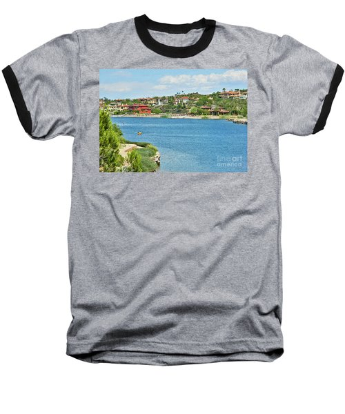 Baseball T-Shirt featuring the photograph Lake Las Vegas In May by Emmy Marie Vickers