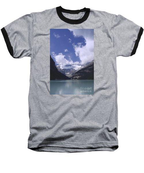 Lake Louise Canada Baseball T-Shirt by Rudi Prott