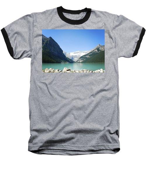 Lake Louise Alberta Canada Baseball T-Shirt
