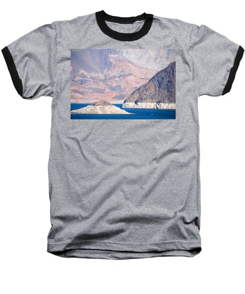 Baseball T-Shirt featuring the photograph Lake Mead National Recreation Area by John Schneider