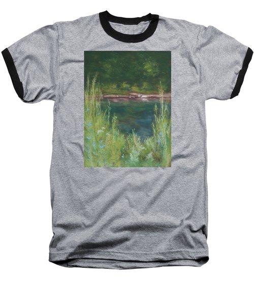 Lake Medina Baseball T-Shirt by Lee Beuther