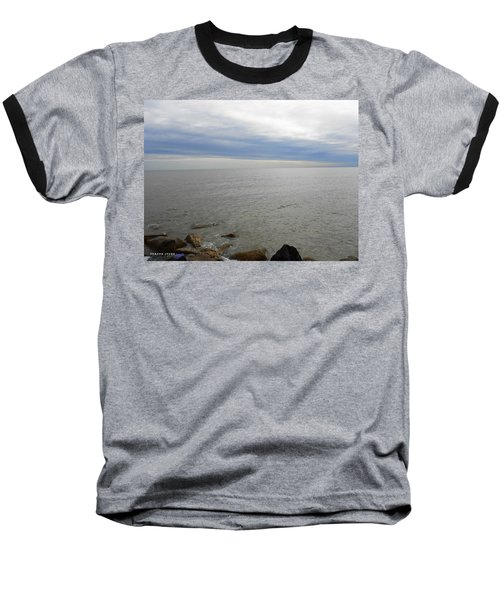Lake Michigan 3 Baseball T-Shirt