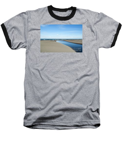 Lake Michigan Waterway  Baseball T-Shirt