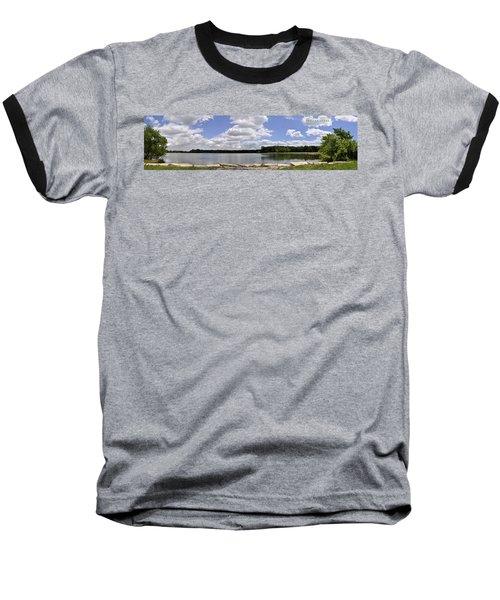 Baseball T-Shirt featuring the photograph Lake Of Dreams by Verana Stark
