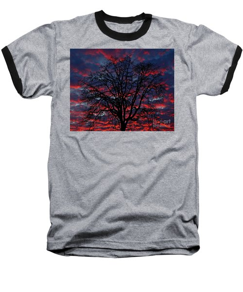Lake Oswego Sunset Baseball T-Shirt