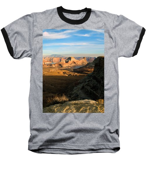 Baseball T-Shirt featuring the photograph Lake Powell From Alstrum Pt 02 by Jeff Brunton