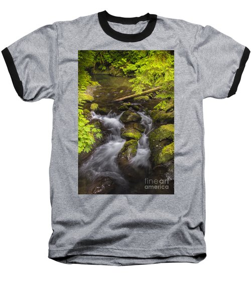 Lake Quinault Creek 2 Baseball T-Shirt