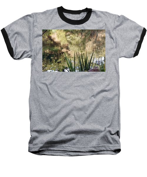 Baseball T-Shirt featuring the photograph Lake Reflections by Kate Brown