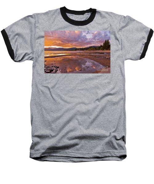 Baseball T-Shirt featuring the photograph Lake Tahoe by Mae Wertz
