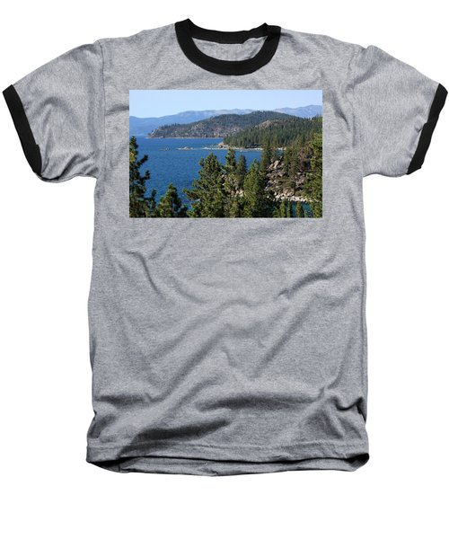 Lake Tahoe Nevada Baseball T-Shirt