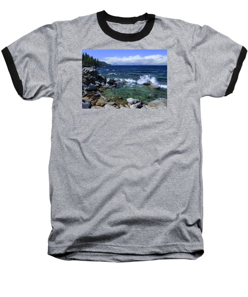 Baseball T-Shirt featuring the photograph Lake Tahoe Wild  by Sean Sarsfield