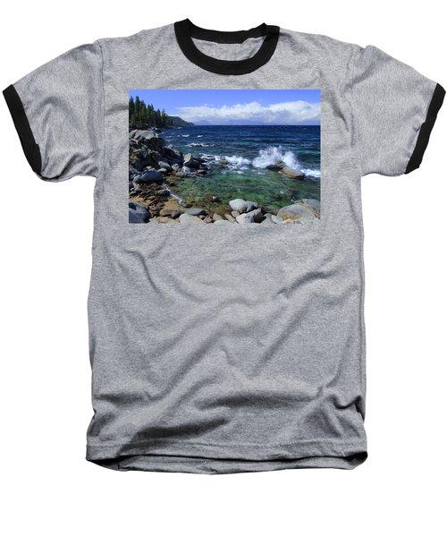 Lake Tahoe Wild  Baseball T-Shirt